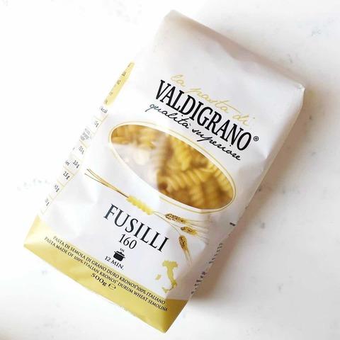 Макароны 160 Fusilli, Valdigrano, 500 гр