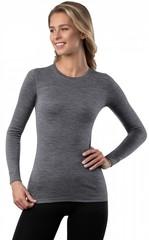 Кофта женская Norveg Soft Woolmark, серый меланж
