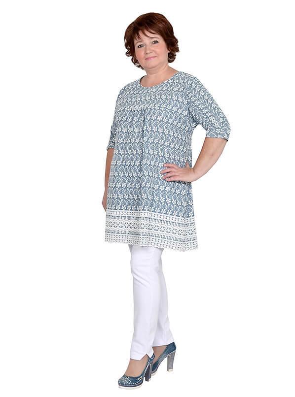Туника с вышивкой Инду