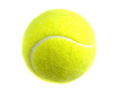 Мяч теннисный.