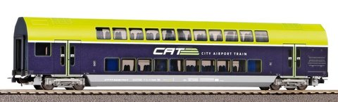 Двухэтажный вагон управления 2-го класса CAT ÖBB VI