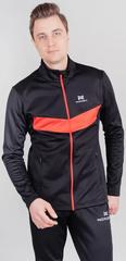 Теплая лыжная куртка Nordski BASE 2021 Black/Red