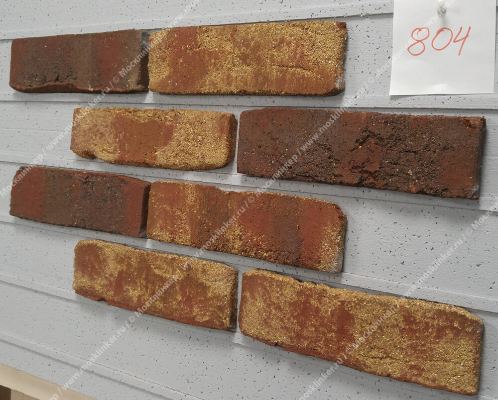 Roben - Moorbrand, torf bunt, NF14, 240x14x71 - Клинкерная плитка для фасада и внутренней отделки