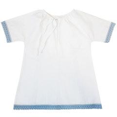 Папитто. Набор крестильный для мальчика с голубым кружевом, вид 2