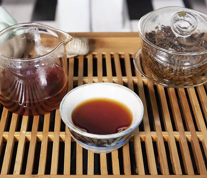 TEA-CH110 Китайский красный чай «Серебряные Брови» (Инь Цзюнь Мэй, 50 гр) фото 14