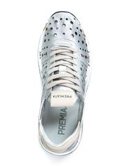 Кожаные кроссовки Premiata Conny 2966 с перфорацией