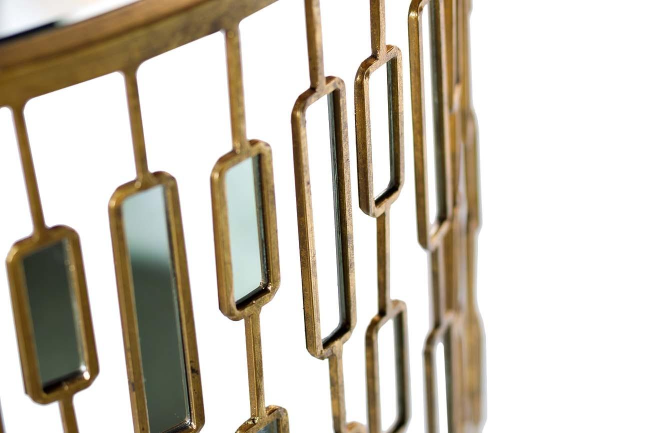 Консоль с зеркальными вставками (19-OA-5835) Garda Decor