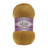 Пряжа Alize Cotton Gold шафран 02