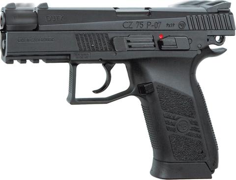 Пистолет пневматический ASG CZ-75 P-07 DUTY  BLOWBACK  металл/черный (артикул 16728)
