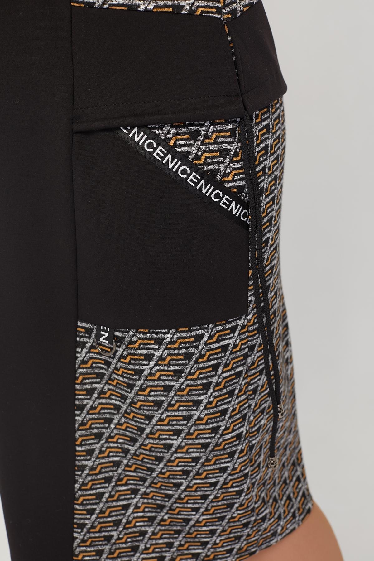 Платье Мильфей (горчица)