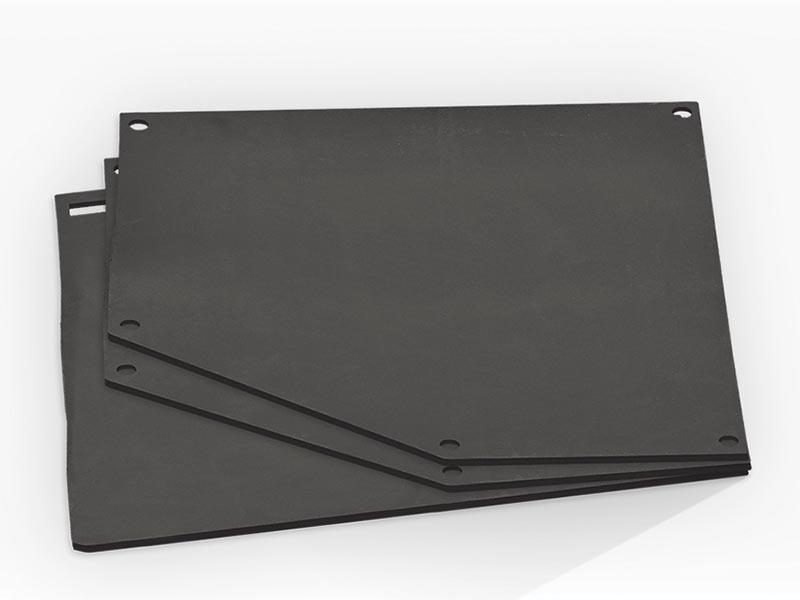 Комплект для облицовки резиновый защитный(шторки, крепеж) для САВ135 (двери проходные)