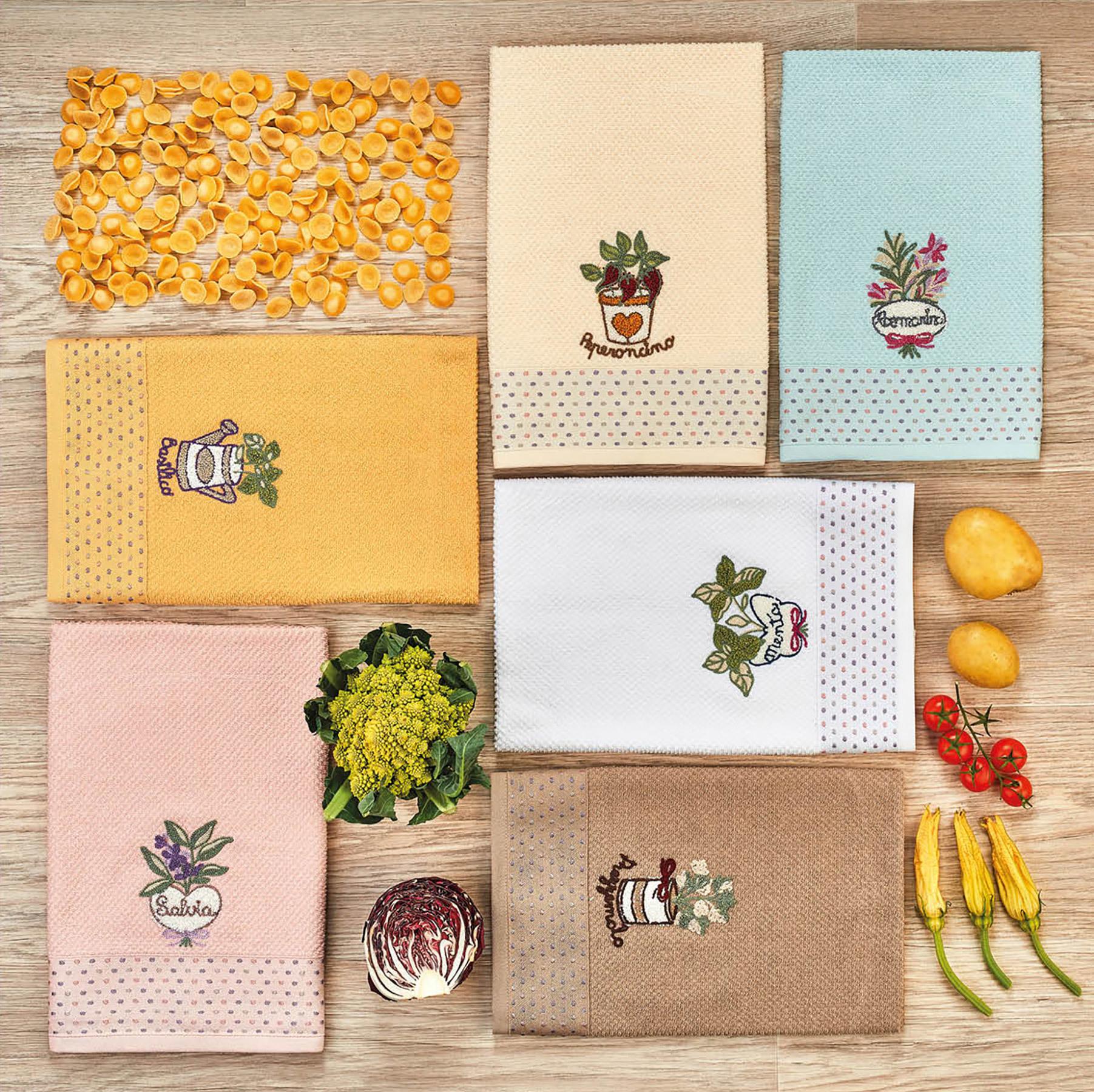 Комплект полотенец 3 шт. Multicolor
