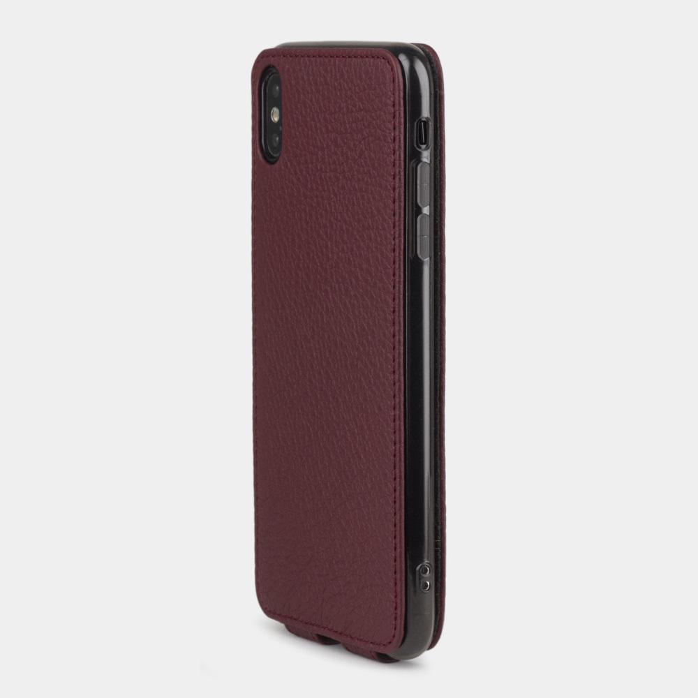 Case for iPhone XS Max - bordeaux