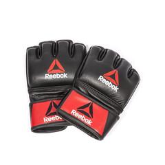 Профессиональные кожаные перчатки Reebok Combat для MMA  RSCB-10310RDBK