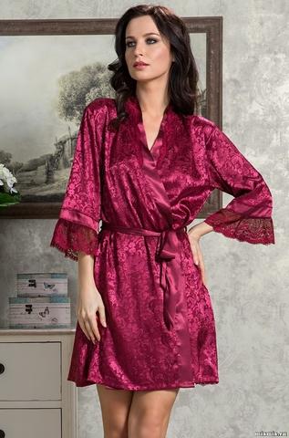 Короткий халат Mia-Amore 9533 ANGELINA_DELUXE