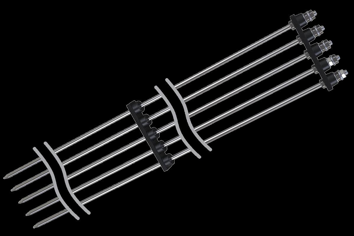 ДУ кондуктометрические датчики уровня для открытых резервуаров