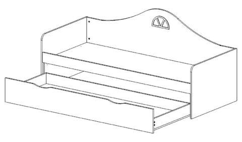 Диван-кровать подростковая с ящиком