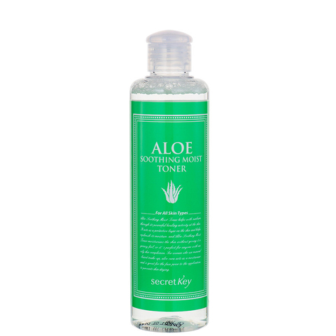Тоник с экстрактом алоэ Secret Key Aloe Soothing Moist Toner 248ml.
