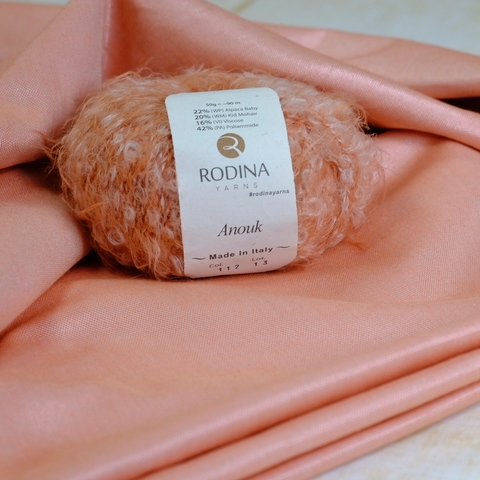 Ткань цвет коралловый риф (112)