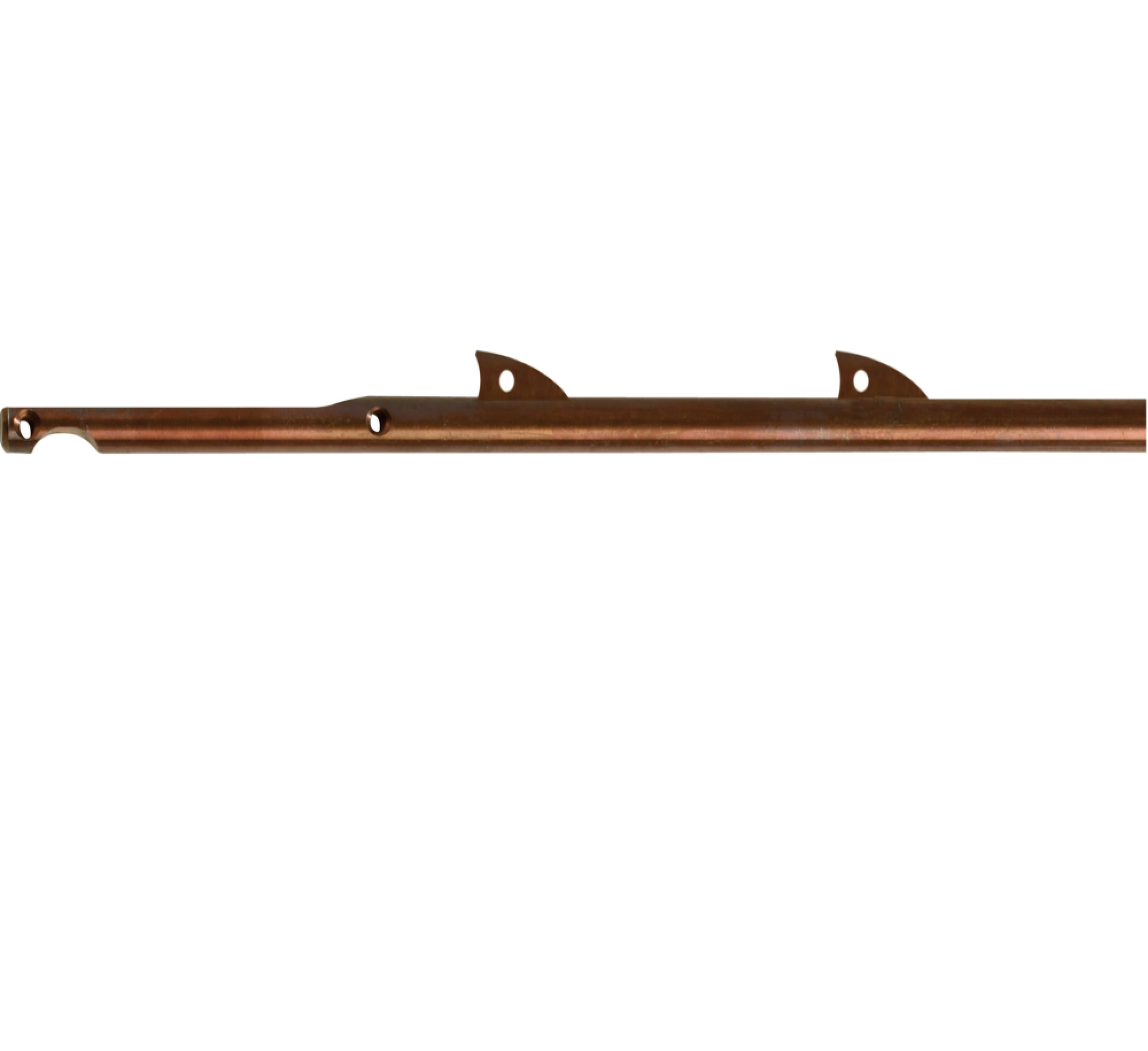 Inox Shafts with fins for Cressi Cherokee speargun