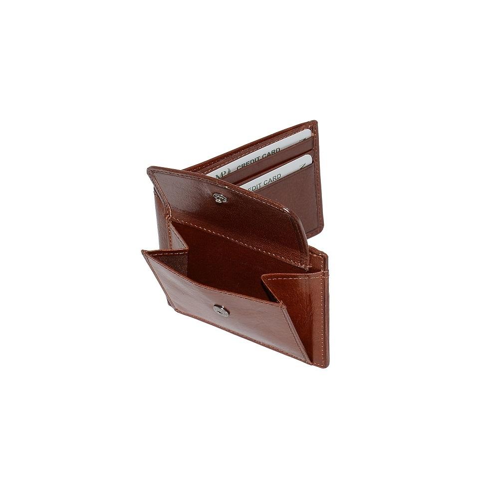B120228R Cognac - Портмоне с RFID защитой MP
