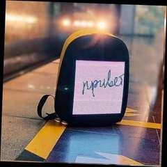 Led рюкзак с цифровым дисплеем Led Bag Pack розовый