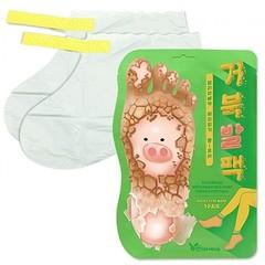 Elizavecca Маска-носочки для ног - Witch piggy hell pore turtle's foot pack, 40г