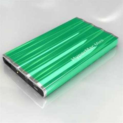 HyperMac Mini 7200mAh – внешняя батарея для iPhone/iPod (Green)
