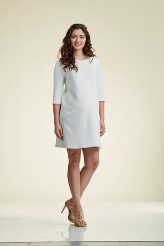 Платье для беременных 06188 белый