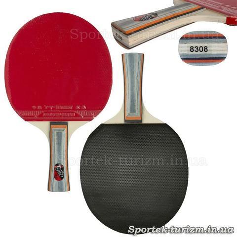 Набір для настільного тенісу Boli Star (8308) 2 ракетки і 3 кульки