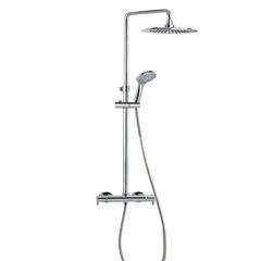 Душевая система с термостатом и тропическим душем для ванны BLAUTHERM 9448RP240