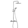 Душевая система с термостатом и тропическим душем для ванны BLAUTHERM 9448RP240 - фото №1