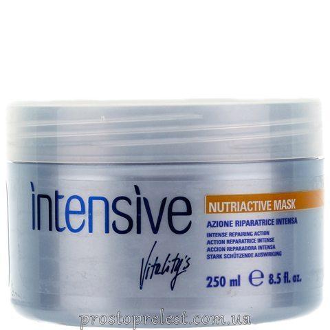 Vitality's Intensive Nutriactive Mask - Поживна маска для сухого і пошкодженого волосся
