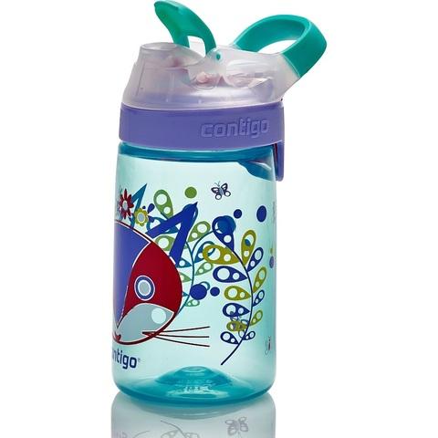 Бутылочка детская Contigo Gizmo Sip (0,42 литра), голубая