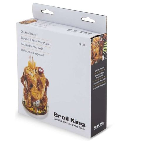 Ростер для курицы с поддоном с термометром