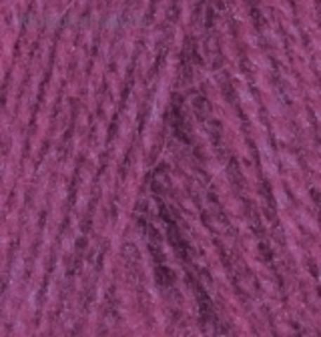 Пряжа Angora real 40 Alize 48 Темная фуксия - фото