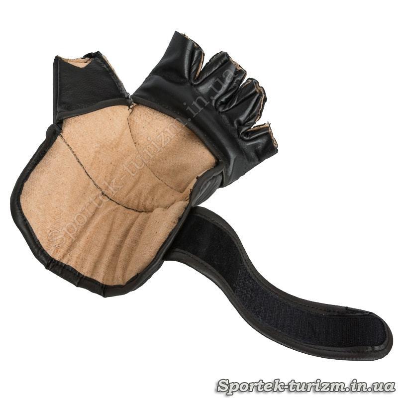 Перчатки для панкратіону - вид зсередини
