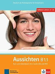 Aussichten B1.1 Kurs- / Arbeitsb. mit 2 CDs + DVD