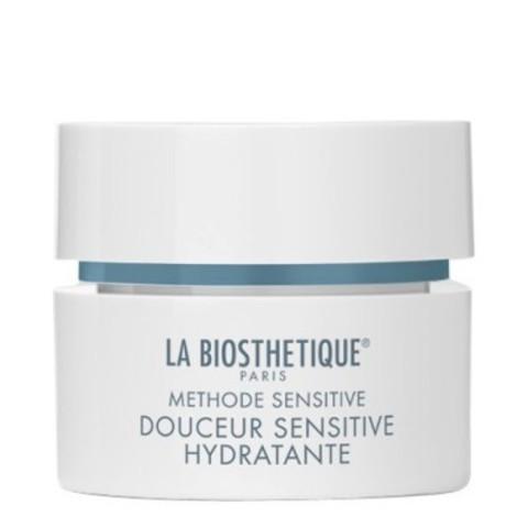 La Biosthetique Methode Sensitive: Успокаивающий крем для увлажнения и восстановления баланса обезвоженной, чувствительной кожи лица (Douceur Sensitive Hydratante), 50мл/200мл