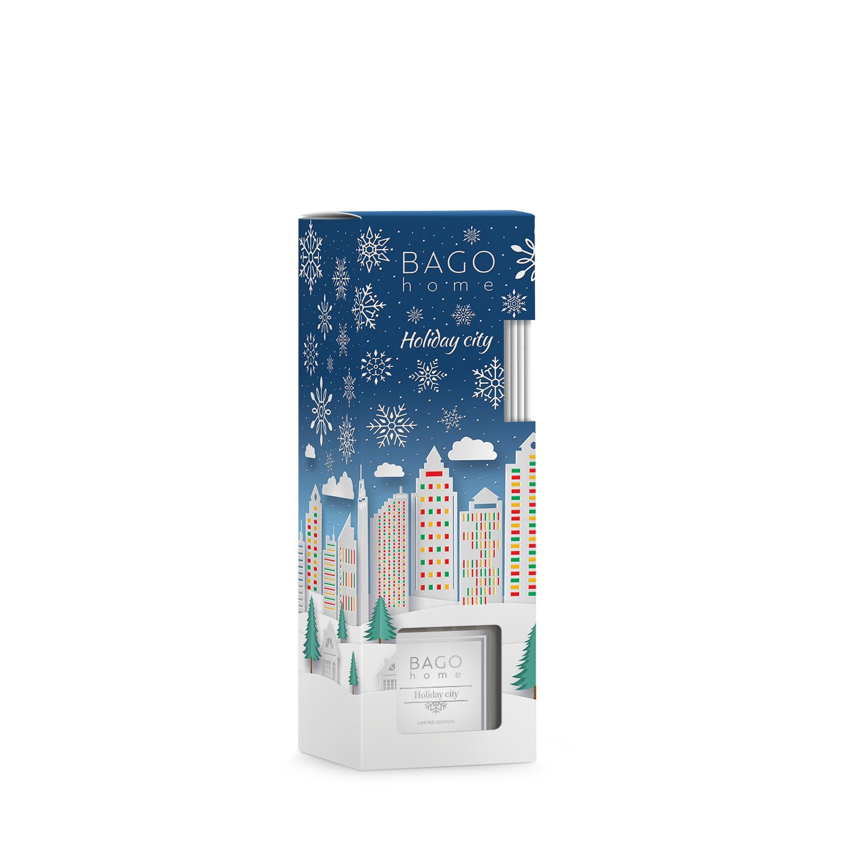 Ароматический диффузор BAGO Home  Праздничный город 90мл