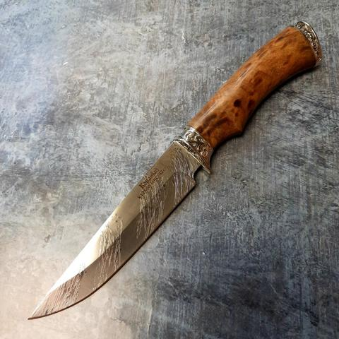 Нож туристический Газель, малый, сталь X12МФ, ИП Фурсач