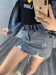 очень короткая джинсовая юбка оптом