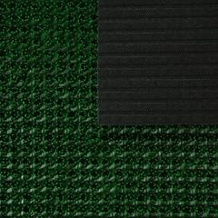 Коврик-дорожка ТРАВКА, темно-зеленый, на противоскользящей  основе, 0,90*15 м