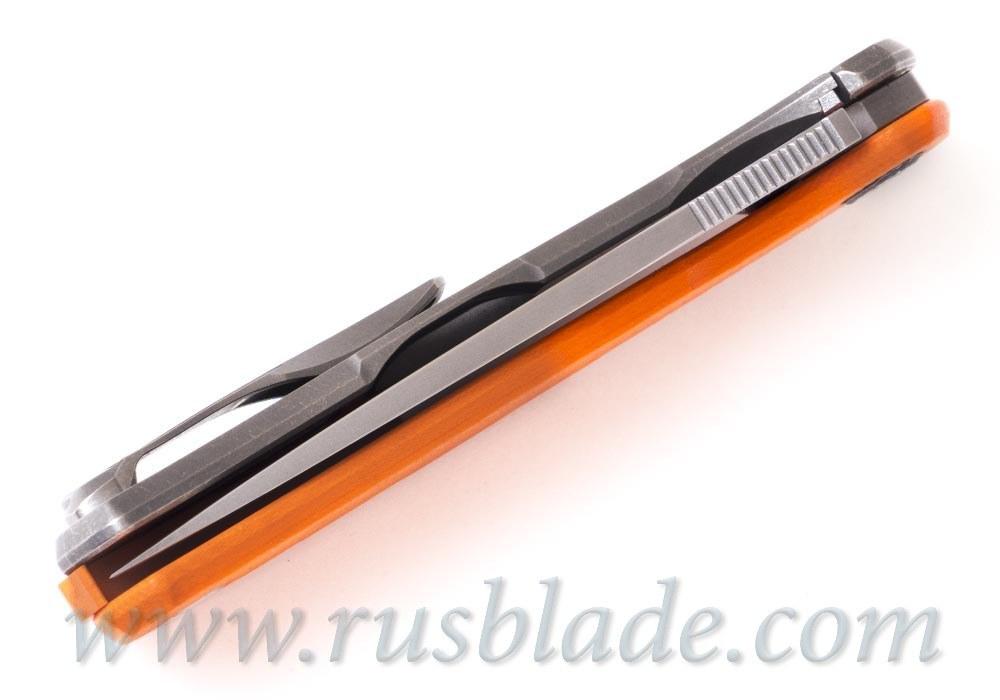 Shirogorov Hati M390 G10 orange - фотография