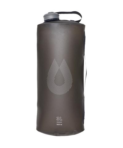 Мягкая канистра для воды HydraPak Seeker (3 литра), серая
