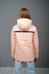 Куртка-анорак для девочки персиковый