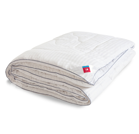 Одеяло Коллекции Элисон  в сатине искусственный  лебяжий пух Теплое.