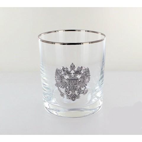 Стакан для виски «Серебряная Россия», 300 мл