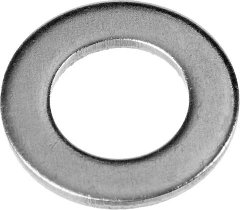 Шайба DIN 125A, 4 мм, 5 кг, оцинкованная, ЗУБР