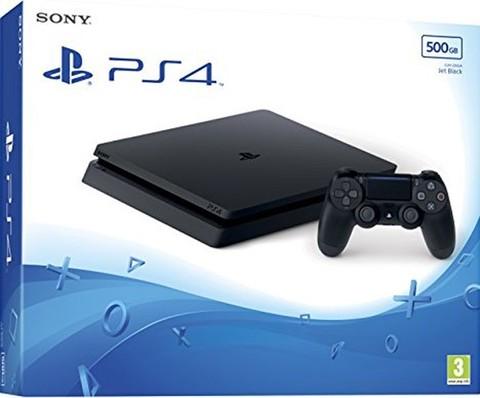 Игровая консоль Sony PlayStation 4 Black Slim 500Гб